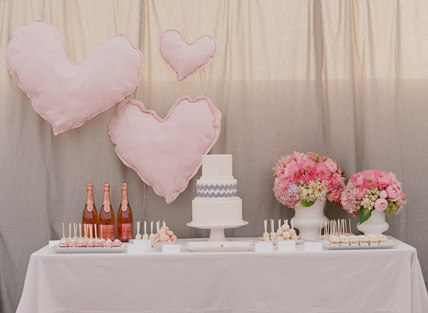 An elegant theme with a touch of whimsy.